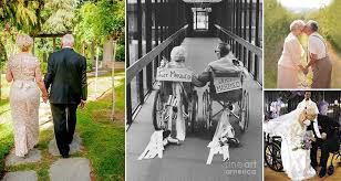 Wedding Photographs 15 Heartwarming Wedding Photos Of Elderly Couples That Prove It U0027s