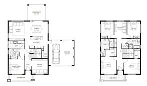 Second Story Floor Plans by 11 Second Floor Modern 2 Story House With Rectangular Plan For A