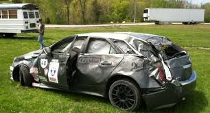 2014 cadillac cts v wagon cadillac cts v wagon totaled during one of america gm authority