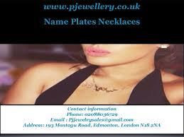 Cheap Name Necklaces Arabic Name Necklace