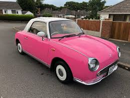 nissan figaro interior nissan figaro convertible rare retro classic only 67 000 miles