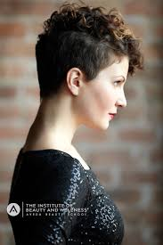 short curls undercut natural short curly hair pinterest