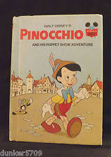 disney pinocchio book ebay