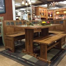 Kitchen Set Furniture Rustic Oak Kitchen Dining Set Fireside Furniture