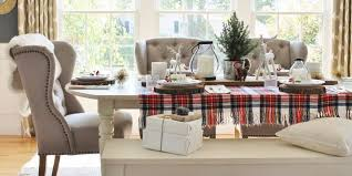 Dining Room Table Decorating by 35 Christmas Table Decorations U0026 Place Settings Holiday Tablescapes