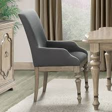 Dining Armchairs Upholstered Corinne Upholstered Arm Side Chair Set Of 2 By Riverside Furniture