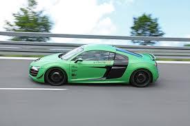 Audi R8 Green - racing one audi r8 v10 5 2 quattro