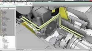 pipe design autodesk inventor and pipe