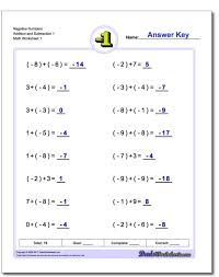 addition and subtraction decimals worksheet koogra