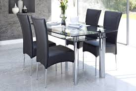 Glass Dining Table Sets by Stunning Glass Kitchen Table For Sale Tags Glass Kitchen Table