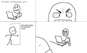 Cartoon Porn Memes - stereoscopic porn is hard imgur