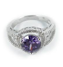 compare prices on amethyst engagement luxurious antique 1 carat created amethyst engagement ring in 18k