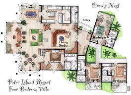 peter island room layouts