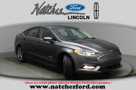 natchez ford used 2017 ford fusion hybrid for sale natchez ms