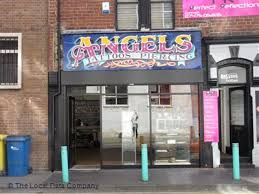 Angel Tattoo In Middlesbrough | angel tattoo piercing on newport crescent tattooing piercing