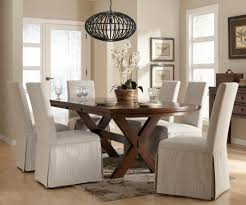 White Dining Room Chairs Elegant Slipcover For Dining Room Chairs U2013 Stylish Look Homesfeed