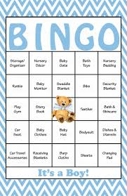 46 best baby shower bingo images on pinterest baby shower bingo
