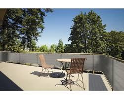 balkon sichtschutz hornbach balkonverkleidung 90 x 500 cm grau bei hornbach kaufen