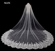 wedding veils 2018 new bridal veil appliqued bridal veils 3 meter ivory