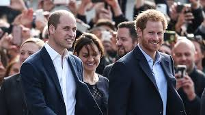 prince william responds to rumours of strife with harry over