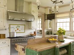 Kitchen Style Distressed Green Wooden Stainless Steel Gas Stove - Stainless steel cabinet door frames
