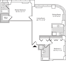 Dog Daycare Floor Plans by 140 Riverside Boulevard Apartments In Upper West Side