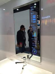 smart mirror display awesome future tech pinterest