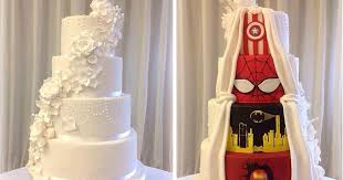 wedding cake makers this had the best compromise and went with a two