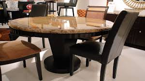furniture enchanting simple decoration round stone dining table