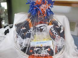 gift baskets denver denver broncos baby gift basket a blanket two washcloths two