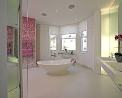 Pink Tile Bathroom 24 Pink Glitter Bathroom Tiles Ideas And Pictures