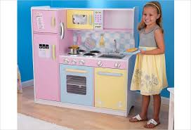 cuisine kidkraft cuisine en bois jouet grande cuisine aux couleurs pastel kidkraft