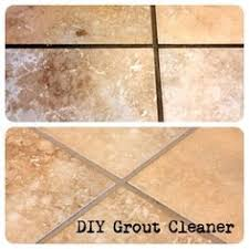 Cleaning Grout With Vinegar Diy Grout Cleaner Homemade Recipe Grout Cleaner Grout And