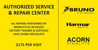 bruno harmar acorn stairlift repair u0026 maintenance service