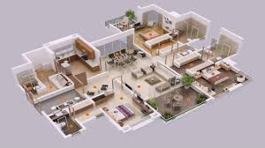 house plans with 5 bedrooms simple house plan with 5 bedrooms 3d youtube