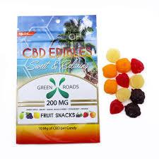 fruit edibles cbd edibles 200 mg cbd fruit snacks green roads world