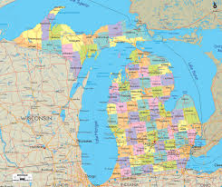 Warren Michigan Map by Michigan Map