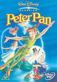 peter pan disney dvd 1953 amazon uk bobby driscoll