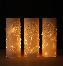 make paper lanterns inspired by dandelions a of rainbow