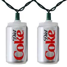 Coca Cola Patio Umbrella by Diet Coca Cola Soda Can Party String Lights