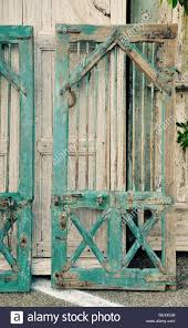 shabby chic doors rustic blue shabby chic cupboard doors with metal hardware and
