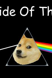 Meme Wallpaper For Iphone - doge side of the moon iphone 4 wallpaper 640x960