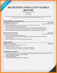 Recruiter Sample Resume by 7 It Recruiter Resumes Ledger Paper