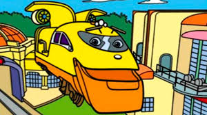 chuggington koko u0027s color box funny coloring game youtube