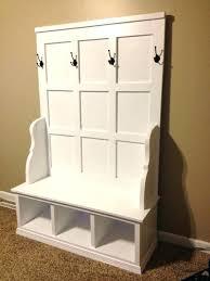 solid wood cubby storage bench hearthstone storage storage ideas