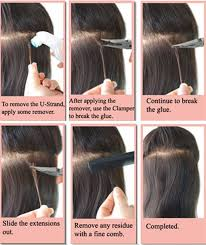 strand by strand hair extensions how to remove micro loop hair extensions