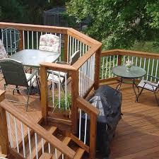 multilevel composite deck archadeck outdoor living