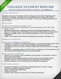 college student resume no work experience education section resume writing guide resume genius