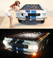 Mustang Pool Table 1965 Shelby Gt 350 Pool Table The Green Head