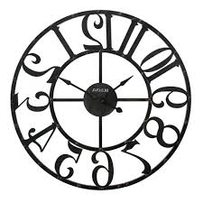 oversized clocks home design wall clocks decor the depot throughout 87